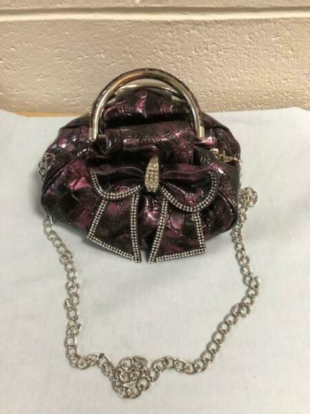 Bella Collection Purple Purse