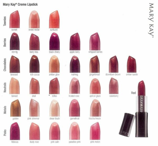 Mary Kay True Dimensions Creme Lipstick - Choose your Shade -
