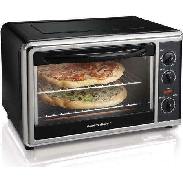 Electric Oven Large Capacity Counter Top Rotisserie Pizze Cake Home Kitchen NEW