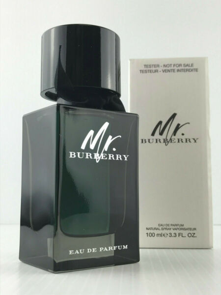 MR BURBERRY MEN COLOGNE PARFUM SPRAY 3.4 OZ NEW IN TST BOX AS SHOWN $54.95