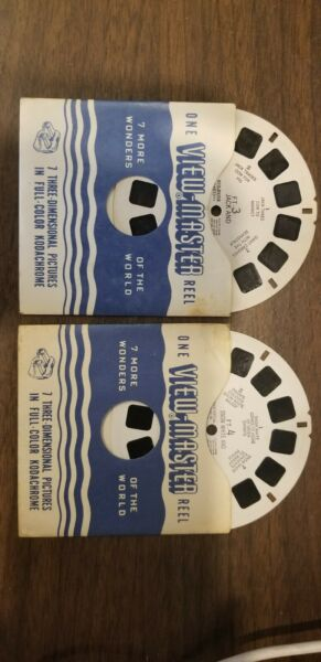View-Master Reels FT-3 FT-4 Jack and the Beanstalk Snow White
