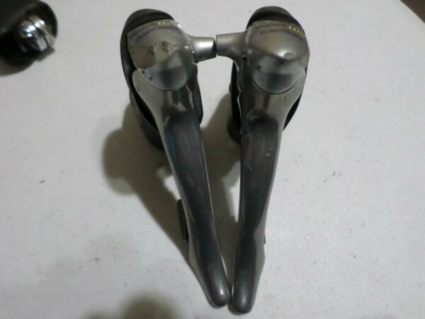 Shimano 105 ST5500 5510 5501 Shifters Road Bike Double Cycling 9 Speed STI Used