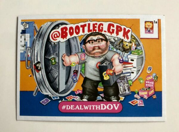 Garbage Pail Kids Promo Card - Bootleg GPK - Deal with Dov - NYCC 2019 Topps