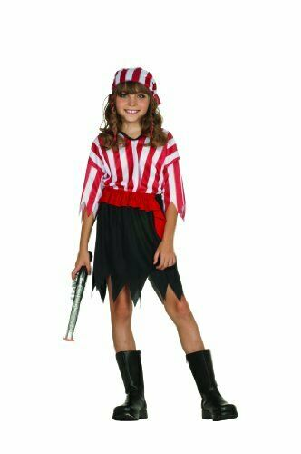 RG Costumes Pirate Girl Child Large Size 12 14 $26.63