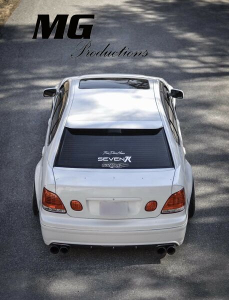 MG Production Roof Wing /spoiler For 98-05 Lexus Gs300 Gs400 Gs430 Aristo Jzs