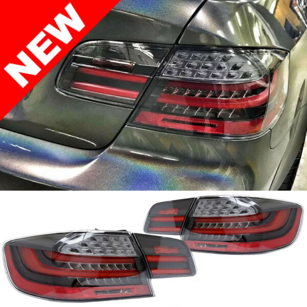 07-13 BMW E92 2DR Coupe  LCI Facelift Style LED Taillights - Clear/Black/Red