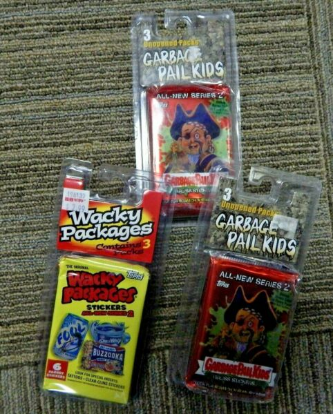 Garbage Pail Kids USA Series 3 and 2  9 Unopened Pack Brand New
