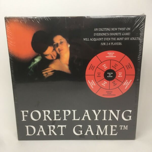 Vintage 90s Foreplaying Dart Game Pipedream Products 1994 New Sealed
