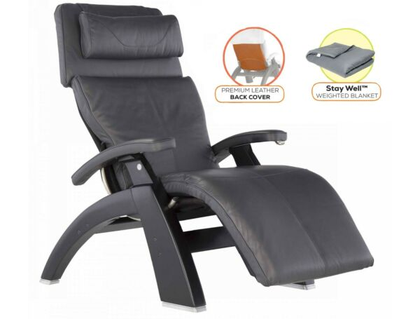 Human Touch Perfect Chair PC-LiVE 420 Zero Gravity Recliner + Cover + Blanket