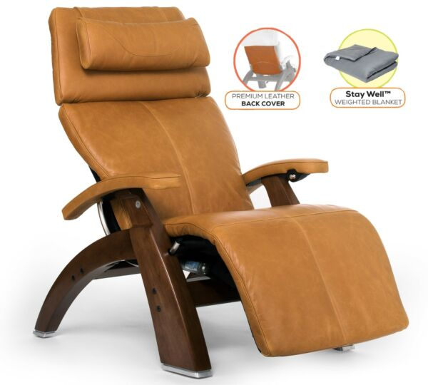 Human Touch Perfect Chair PC-LiVE 610 Zero Gravity Recliner + Cover + Blanket