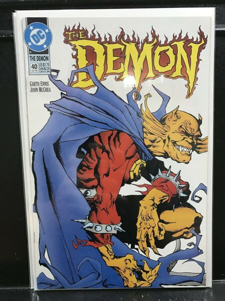 Demon #40 Garth Ennis (1991 Series 1993 DC) Buy 2 Get 1 Free! DDDD