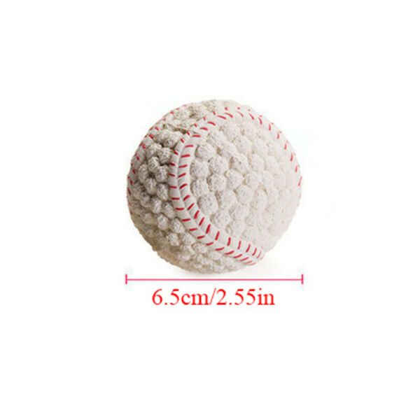 Pet Dog Toy Ball Squeaky Puppy Interesting Tennis Football Teeth Cleaning Tool $3.32