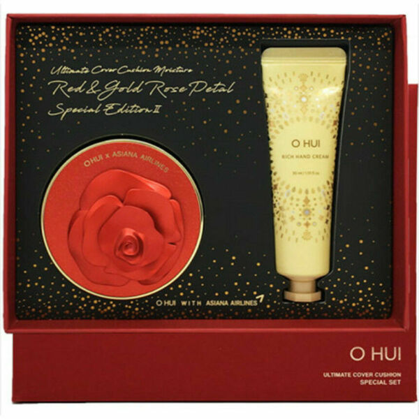 OHUI UltimateCoverCushionMoistureRedPetalEdition#01 Milk Beige $41.90