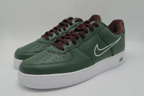 Nike Air Force 1 Low Retro Hong Kong Deep Forest 845053-300 Size 10 new