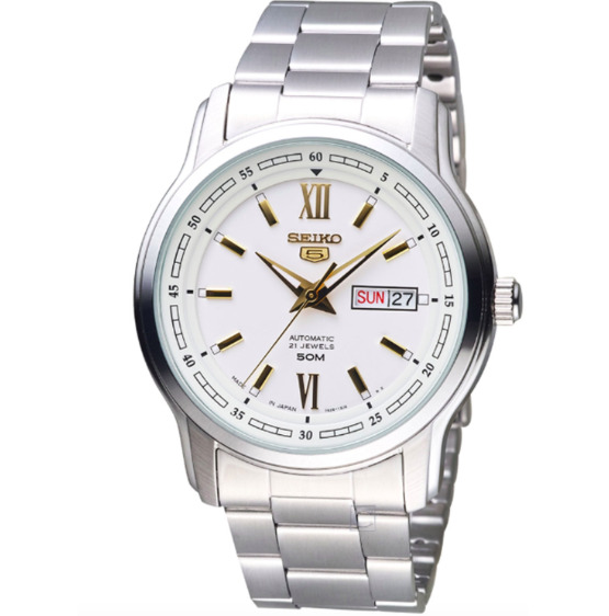 Seiko 5 Men#x27;s Automatic Stainless Steel Watch SNKP15J1 $120.00