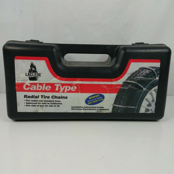Laclede Cable Type Tire Snow Chains - Stock # 1038 - Never Used