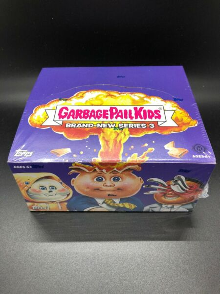 GARBAGE PAIL KIDS 2013 BRAND NEW SERIES 3 (BNS3) HOBBY BOX NEW SEALED FREE SHIP