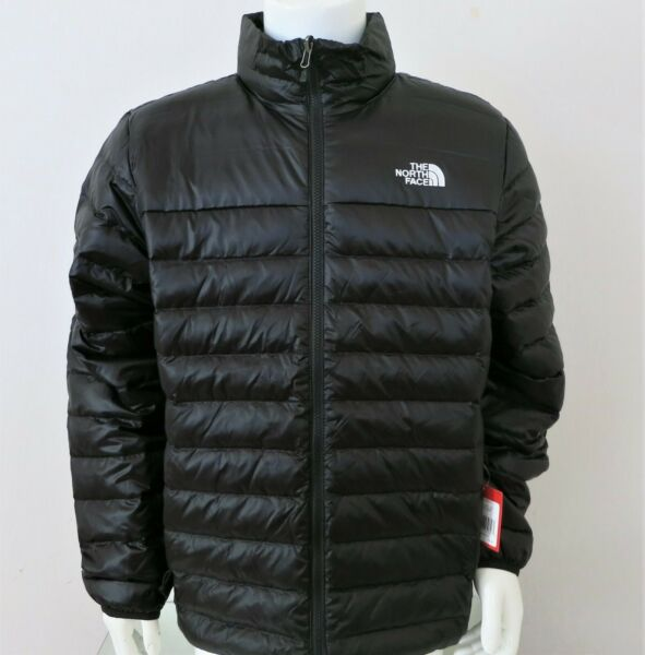 THE NORTH FACE Men's Flare 550-Down Insulated Puffer Jacket Black-White sz S-XXL