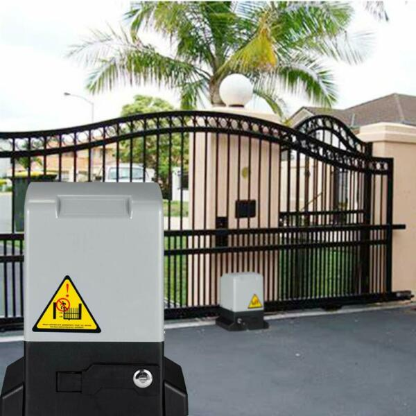 1800KG Electric Automatic Gate Opener Driveway Operator Sliding Remote 4000LBS $203.99