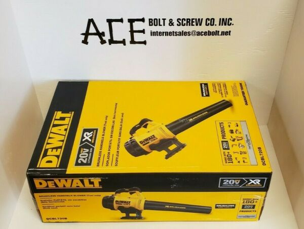 DeWalt DCBL720B 20-Volt MAX Cordless 90 MPH Handheld Blower (Tool Only)