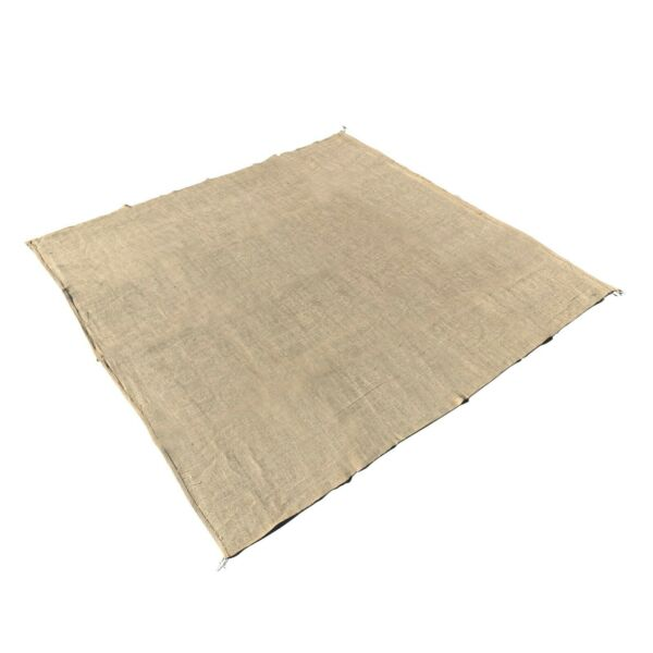 Sandbaggy Burlap Square 80 inch x 80 inch - for Landscaping Construction Decor