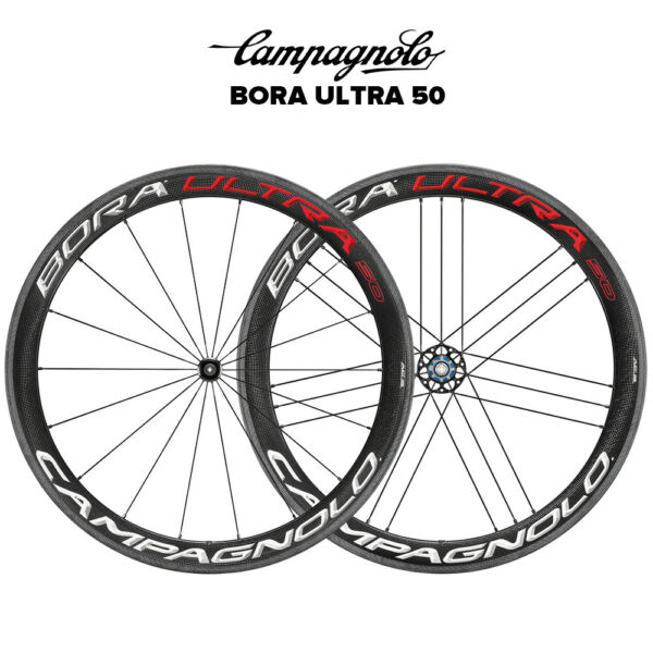Campagnolo Bora Ultra 50 Clincher Wheelset WH18
