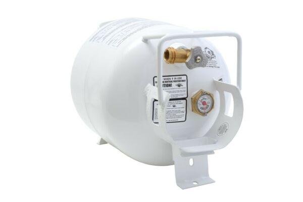 NEW 20 lb Horizontal Propane Tank Refillable Cylinder with OPD Valve and Gauge