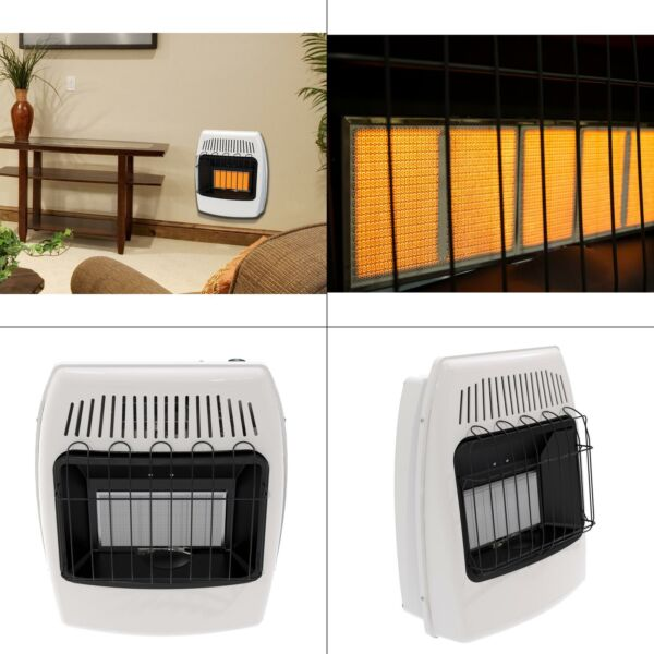 18000 btu infrared vent free natural gas wall heater  dyna-glo ir18nmdg-1 home