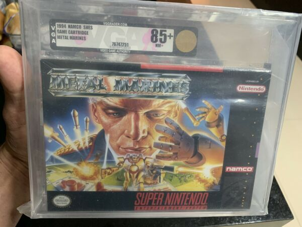 Metal Marines (Super Nintendo SNES 1996) brand new factory sealed VGA 85+