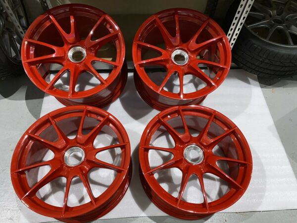 PORSCHE GT3 RS GT2 RS OEM  997.2 CENTER LOCK WHEELS. Set Of 4. 19 Inch. USED.