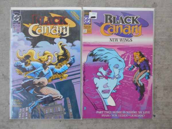 BLACK CANARY NO.2NO.1  DEC. 1991  TO  JAN. 1993     HIGH GRADE