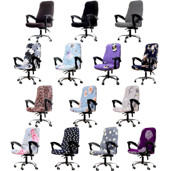 Office Chair Covers Stretch Modern Universal Boss High Back Chair Slipcovers $14.88