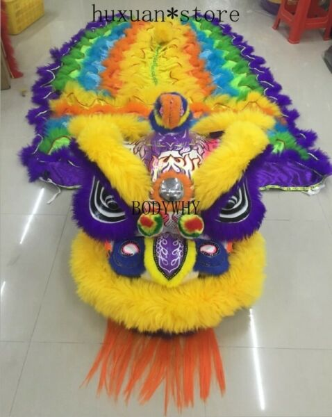 Premium Lion Dance Costume Lion Dancing Performance Spring Festival Double Adult