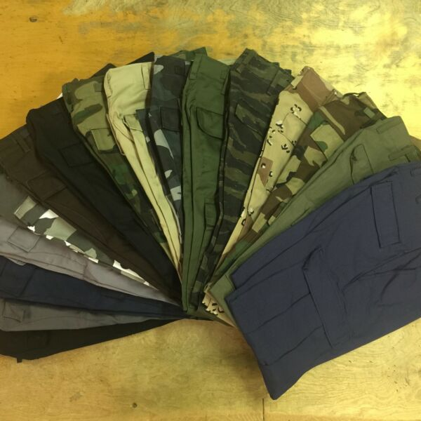 BDU PANTS MADE IN USA quot;MERCHANTABLE SECONDSquot; CARGO WORK UNIFORM MILITARY $10.00