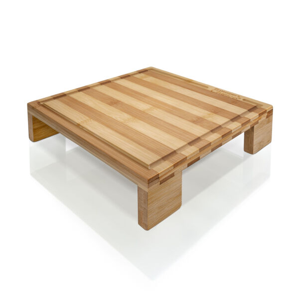 Prosumer's Choice Bamboo Cutting Board and Single Burner Stovetop Cover