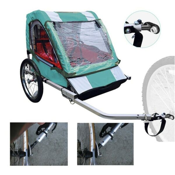 US Steel Bike Bicycle Trailer Coupler Attachment Angled Elbow for InStep Schwinn $12.99
