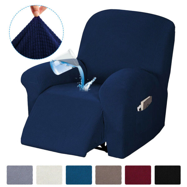 Waterproof Stretch Recliner Chair Slipcover Cover Protector for Lazy Boy Sofa $20.89