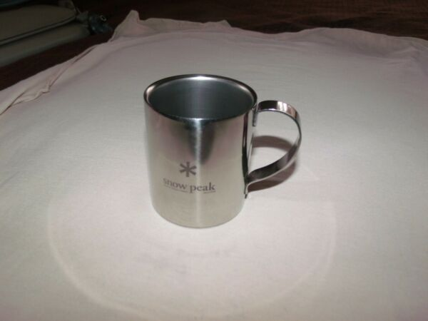Snow Peak Stainless DOUBLE WALL Mug Cup {8OZ.}FREE SHIP}
