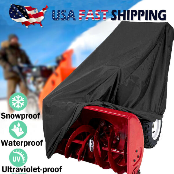 Snow Blower Cover Waterproof Snow Thrower Cover Heavy Duty Snowblower Protector
