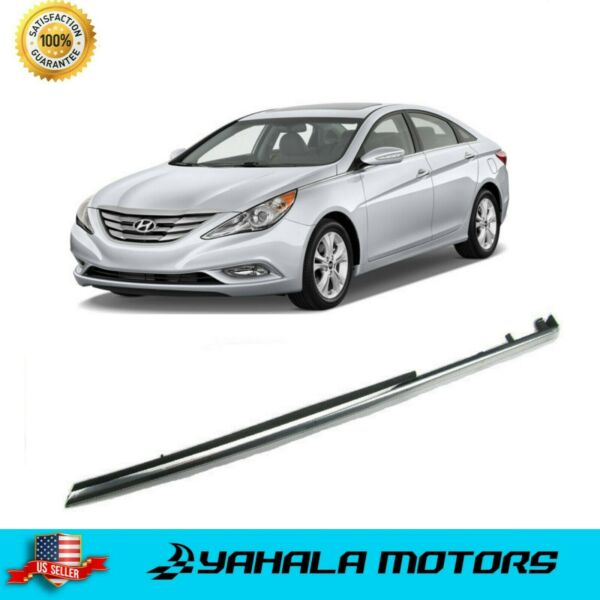 Front Left Fender Chrome Molding Trim for 2011 - 2014 HYUNDAI i45 Sonata