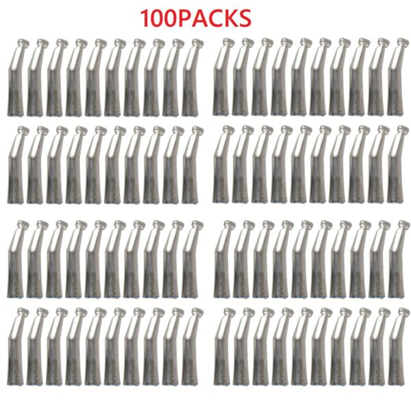 100X Dental LED Fiber Optic Contra Angle Handpiece Fit Kavo Inner Water ST NEW