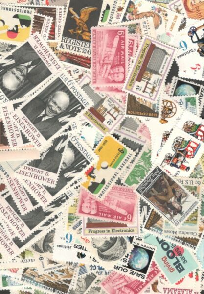 US Discount Postage Stamps Over 100 6 cent Stamps Mint FREE SHIPPING