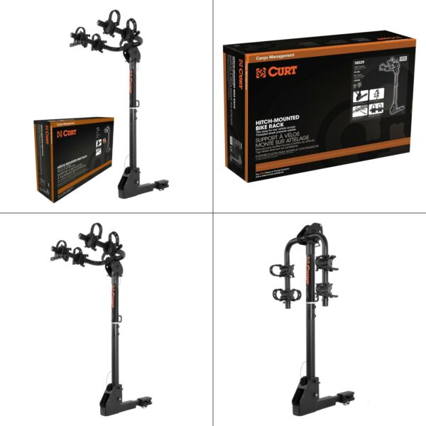 2 bike hitch bike rack curt 18029 hitch mounted bikes shank for with and all $196.99