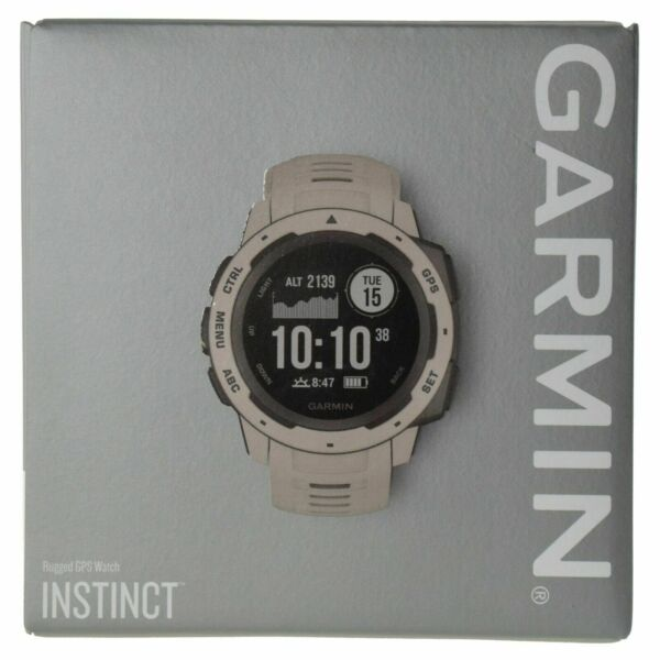Garmin Instinct Outdoor Rugged GPS Multisport Watch Wrist-based HRM - Tundra
