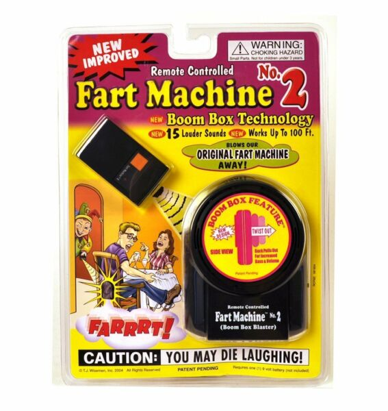 NEW - Remote Control Fart Machine #2 by T.J. Wiseman - FREE SHIPPING