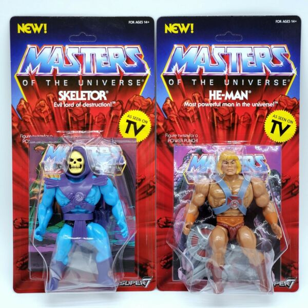 MASTERS OF THE UNIVERSE  HE-MAN & SKELETOR 5 12