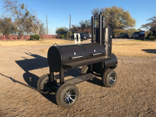 NEW Custom Patio BBQ pit smoker Charcoal grill $3185.00