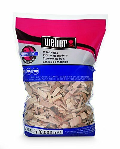 Weber-Stephen Products 17143 Hickory Wood Chips 192 cu. in. (0.003 cubic meter)