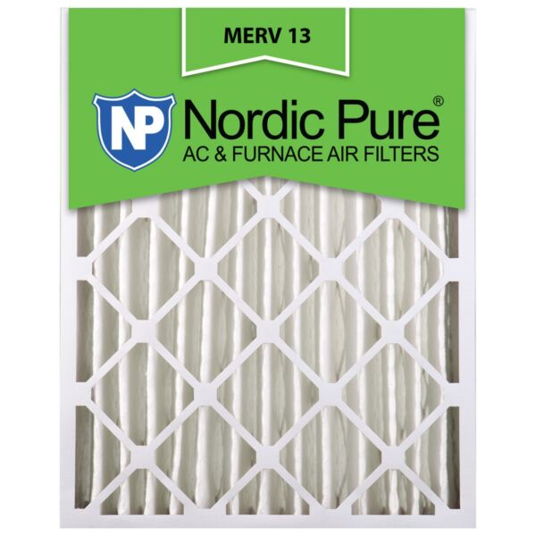 16X25x4 Air Filter Furnace Merv 13 12 Conditioner Pleated Bulk 2 Pack $72.53