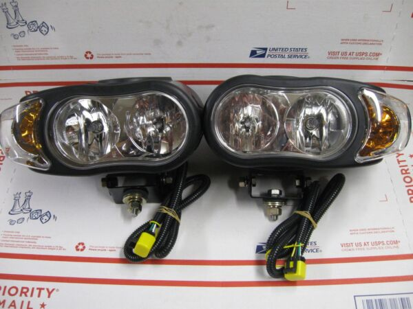 MEYER NIGHT SABER III SNOW PLOW LIGHTS 07788 07789 NEW IMPROVED SAME AS SABER II